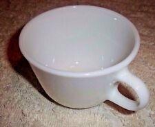 Vintage White Pyrex Opal Milk Glass Coffee Tea Mugs Cups Microwave Safe