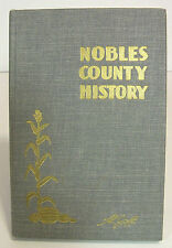 Nobles County Minnesota History by Al Goff - 1958 - MAPS