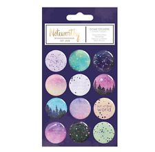 Constellations - Dome Stickers - 12pcs