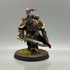 WARHAMMER 40K CHAOS SPACE MARINES BLACK LEGION LORD BLACKSTONE FORTRESS PAINTED