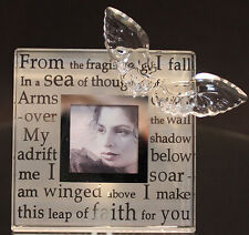 SWAROVSKI PORTA FOTO POESIA PHOTO PICTURE FRAME MEMORIES WINGED POETRY 288972
