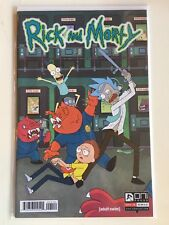 Rick and Morty #1 4th / Fourth print Oni