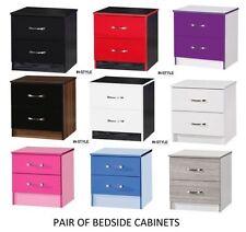 MDF/Chipboard Modern 45cm-50cm Bedside Tables & Cabinets
