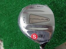 Nicklaus Air Max Cryogenic Supersteel 15 3 Wood Fairway Metal ProLaunch 65 Stiff