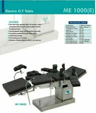 Fully Electric C-Arm Compatible Operation Theater Table all Positions operated @