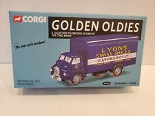 CORGI TOYS Golden Oldies BEDFORD S-LYONS Mint In Box Limited Edition