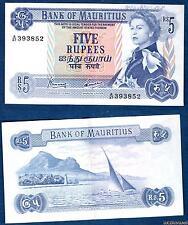 Ile Maurice – 5 Rupees 1967 Elisabeth II TTB+ 393852 – Mauritius