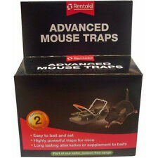 Rentokil Advanced Powerful Mouse Trap Twin Pack - Part of the Poison Free Range