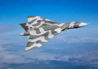 Avro Vulcan blue sky the final year canvas prints various sizes free delivery