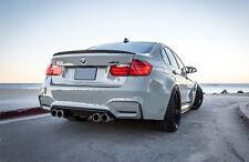 BMW F30 3-Series F80 M3 ABS Euro Rear Trunk Spoiler Lip Wing Sport Trim Lid M