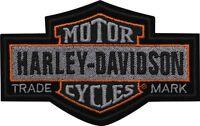 "HARLEY-DAVIDSON Parche / Emblema ""Nostalgic"" patch Largo em313754"