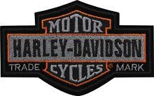 "Harley-Davidson Aufnäher/Emblem ""NOSTALGIC"" Patch klein  *EM313752*"