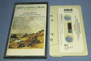 RALPH VAUGHAN WILLIAMS SYMPHONY No.3 ANDRE PREVIN classical music cassette C0174