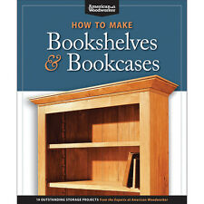 How to Make Bookshelves and Bookcases, Book