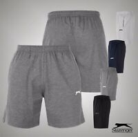 Mens Slazenger Casual Brushed Fleece Jersey Shorts Bottoms Sizes from S to 4XL