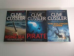 Clive cussler 3 x Novels