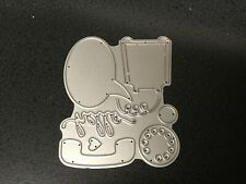 HELLO TELEPHONE MACHINE Cutting Die Stencil DIY Scrapbooking Album Card Emboss