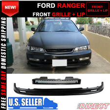 90 91 92 93 HONDA ACCORD TYPE R STYLE GRILL &  MUGEN STYLE LIP COMBO