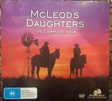 McLEOD'S DAUGHTERS DVD COMPLETE SAGA TV SERIES 1 - 8 AUSTRALIAN TV 52-DISC SET