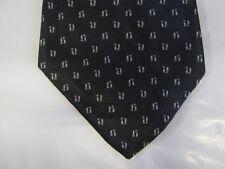 Zylos SILK Tie Necktie 57 x 4 black gray 14369