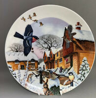 "Collectors Plate Wedgwood Colin Newman's Country Christmas ""Woodland Visitors"