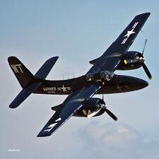 "Scale Plans: Grumman F7F Tigercat 44"" Wingspan .29 to .35s by Paul Plecan"