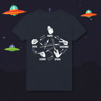 The Big Bang Theory Rock Paper Scissors Lizard Spock Bargain Price HD60 T-Shirt