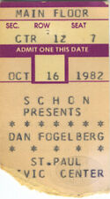 Dan Fogelberg 1982 Solo Acoustic Tour Concert Ticket Stub St. Paul