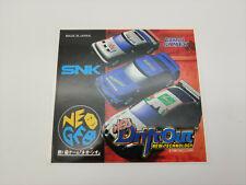 Es-Neogeo Aes Neo Drift Out Autocollant Japon Version Nouveau