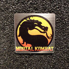 Mortal Kombat Retro PC Logo Label Decal Case Sticker Badge 496
