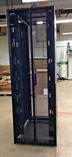APC NetShelter SX 48U AR3157 750mm x 1070mm Server Rack Enclosure w/ Side Panels