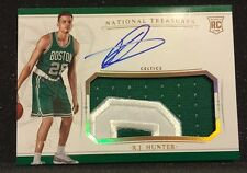 R.J. Hunter 2015-16 NATIONAL TREASURES ROOKIE PATCH AUTO RPA GOLD SSP 05/10!!