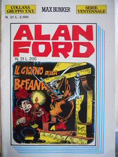 Alan Ford SERIE VENTENNALE n°31  [G306]