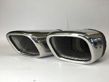 JE DESIGN Doppelauspuffendrohr  im SQ7 Look für Audi Q7 4M, JE4MA410585