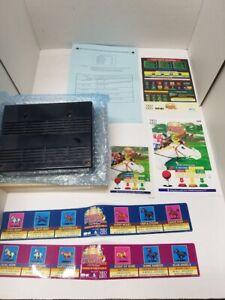 STAKES WINNER 2 NEO GEO MVS CART 100% ORIGINAL SNK NOS NEW with box #000196 rare