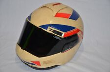 VINTAGE NOLAN N35-3 JET STREAM WING MOTORCYCLE HELMET MEDIUM MADE ITALY