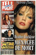 E - Télé Poche N°1552 Melrose Place Heather Locklear,Lorenzo Lamas