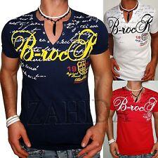 Blackrock by Jeel Herren T-Shirts Neu Clubwear Design Polo Top T-Shirt Wow t.6.9
