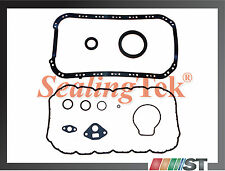 Fit 96-00 Honda 1.6L SOHC Engine Lower Gasket Set oil pan kit D16Y8 D16Y7 D16Y5