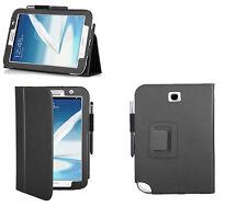 Etui hoes housse multi-angles noir pour tablette Samsung Galaxy Note 8.0