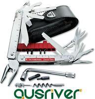Victorinox Swiss Army Knife SwissTool Plus 3.0338.L 39-in-1 Pocket Tool Box