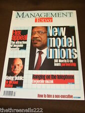 MANAGEMENT TODAY - NEW MODEL UNIONS - JULY 1998