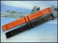 20 XL Open End Gen Pigskin Vintage for Wire Lugs watchband strap IW SUISSE 16-18