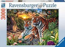 RAVENSBURGER*PUZZLE*3000 TEILE*VERSTECKTE TIGER*NEU+OVP