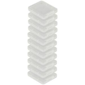 10x Speicherkarten Schutzbox Aufbewahrungsbox für CF Compact Flash SD (+microsd)