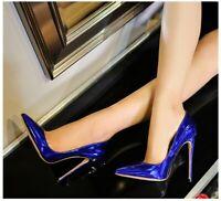 Simple Pumps Women's SEXY Stiletto High Heels Shoes Pointed Toe OL Clubwear Shoe