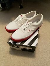 Vans Wtaps Era OG LX White Red W Taps Men's 8.5