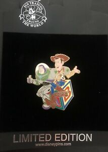 Disney Trading Pin Buzz & Woody Friendship Day Series Limited Edition 250 8619