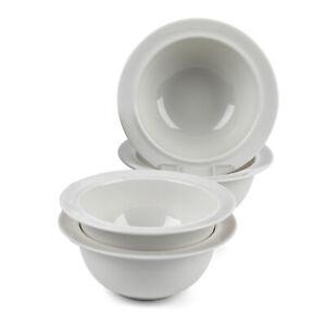 Alessi COMBO-2052 La Bella Tavola Porcelain Cereal, Soup, Dessert Bowls, 16 cm