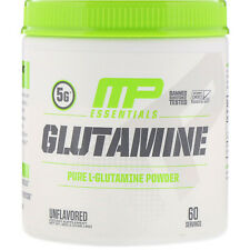 MusclePharm  Essentials  Glutamine  Unflavored  0 66 lb  300 g